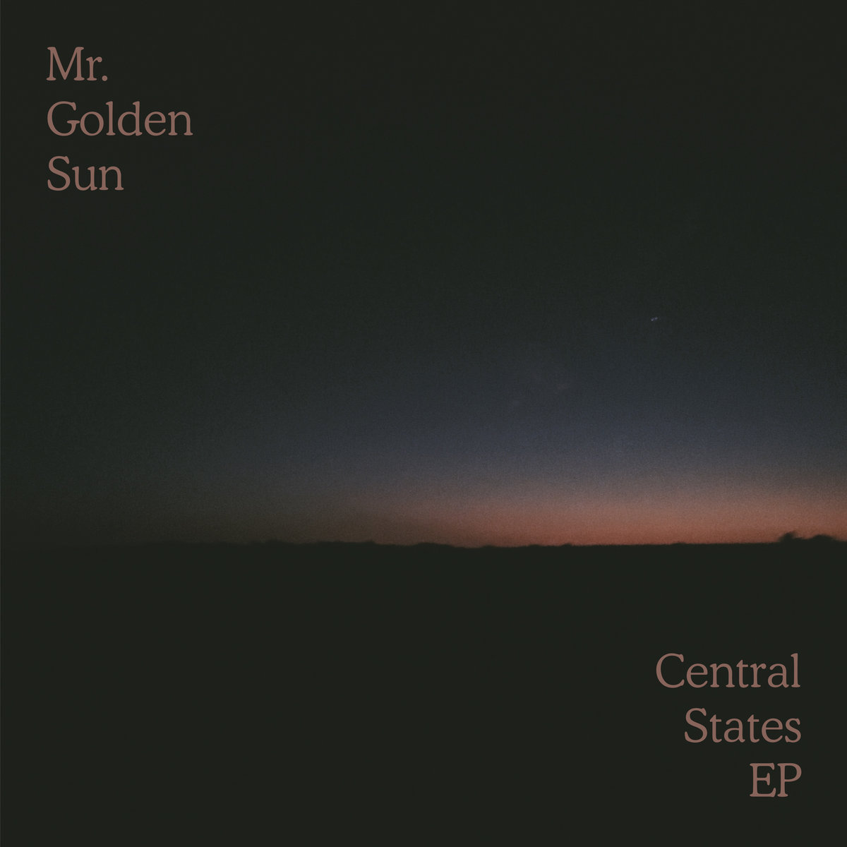 Review: Central States EP by Mr. Golden Sun